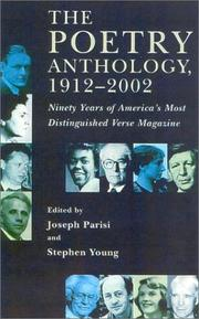 Cover of: The Poetry Anthology, 1912-2002