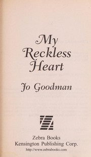 Cover of: My reckless heart