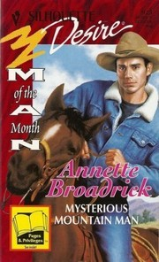 Cover of: Mysterious Mountain Man (Man Of The Month)
