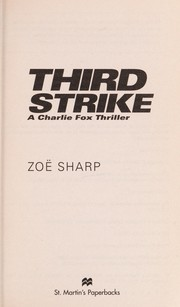 Cover of: Third strike | ZoeМ€ Sharp