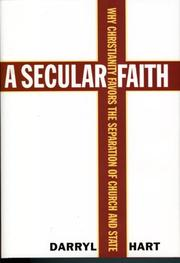 Cover of: A Secular Faith