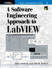 Cover of: A Software Engineering Approach to LabVIEW | Jon Conway