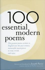 Cover of: 100 Essential Modern Poems
