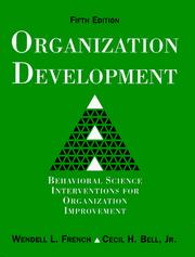 Cover of: Organization Development | Wendell L. French