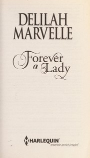 Cover of: Forever a lady | Delilah Marvelle