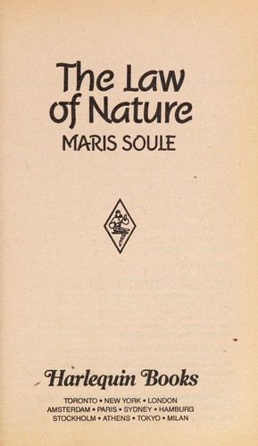 Law Of Nature by Soule