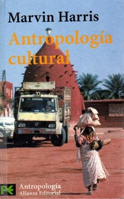 Cover of: Antropología cultural
