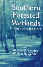 Cover of: Southern forested wetlands |