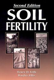 Cover of: Soil fertility