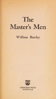 Cover of: The master's men