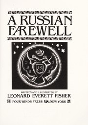 Cover of: A Russian farewell