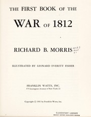Cover of: The first book of the War of 1812