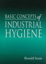Cover of: Basic concepts of industrial hygiene | Ronald McLean Scott