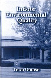 Cover of: Indoor Environmental Quality | Thad Godish