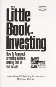 Cover of: The little book of inve$ting