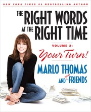 Cover of: The right words at the right time, volume 2 by Marlo Thomas