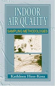 Cover of: Indoor Air Quality | Kathleen Hess-Kosa
