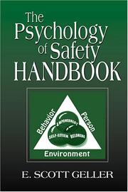Cover of: The psychology of safety handbook