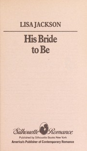 Cover of: His Bride To Be