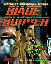 Cover of: Official Blade Runner Strategy Guide