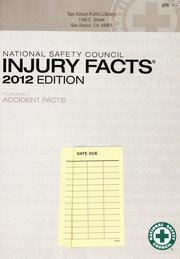 Cover of: Injury facts 2012 edition | National Safety Council