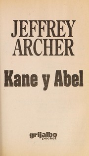 Cover of: Kane y Abel | Jeffrey Archer