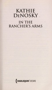 Cover of: In The Rancher's Arms