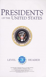 Cover of: Presidents of the United States |