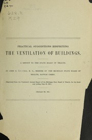Cover of: Practical suggestions respecting the ventilation of buildings