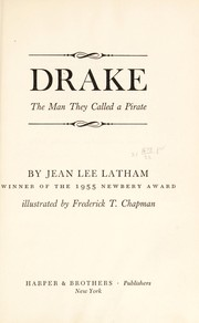 Cover of: Drake, the man they called a pirate
