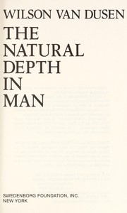 Cover of: The natural depth in man