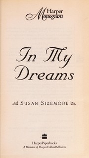 Cover of: In My Dreams