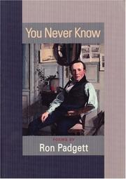 Cover of: You Never Know | Ron Padgett