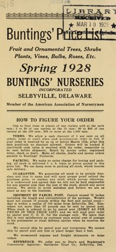 Cover of: Buntings