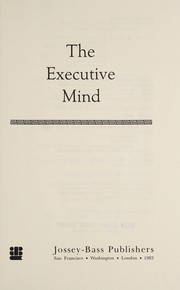 Cover of: The executive mind