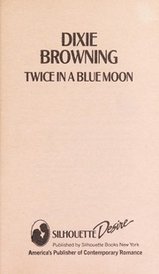Cover of: Twice In A Blue Moon