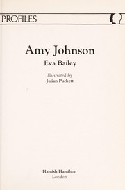 Cover of: Amy Johnson