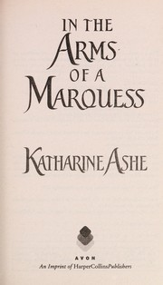 Cover of: In the arms of a Marquess