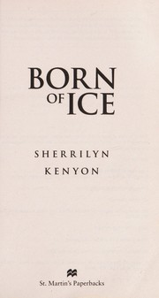 Cover of: Born of ice | Sherrilyn Kenyon