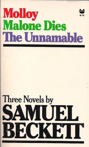 Cover of: Three Novels by Samuel Beckett by Samuel Beckett