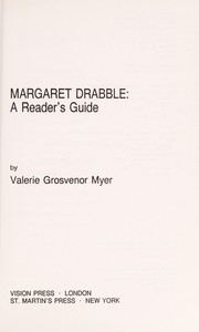Cover of: Margaret Drabble | Valerie Grosvenor Myer