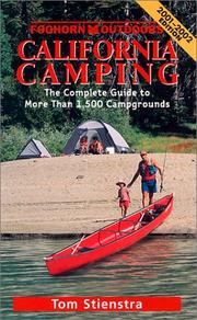 Cover of: Foghorn Outdoors California Camping | Tom Stienstra