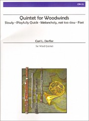 Cover of: Quintet for Woodwinds |