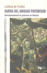 Cover of: Cartas del navegar pintoresco by