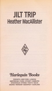 Cover of: Jilt Trip (Grooms On The Run) | Heather MacAllister