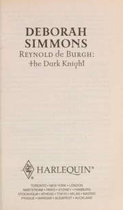 Cover of: Reynold de Burgh