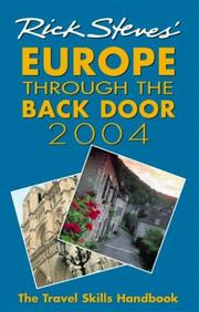 Cover of: Rick Steves' Europe Through the Back Door 2004