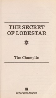 Cover of: The secret of Lodestar