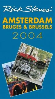 Cover of: Rick Steves' Amsterdam, Bruges, and Brussels 2004