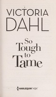 Cover of: So tough to tame